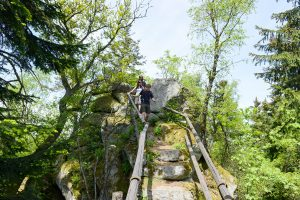 Steinerne Wand bei Rötz im Bayerischen Wald