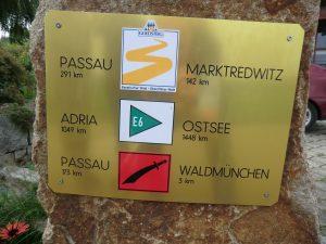 Wandern am Goldsteig und Pandurensteig