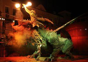 """Freilichtfestspiel """"Der Drachenstich"""""""