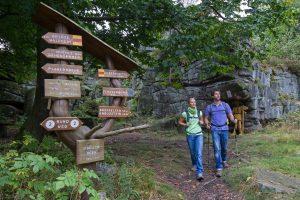 Wandern am Nurtschweg im Oberpfälzer Wald